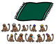 Ten Little Monkeys Jumping on the Bed: Interactive Activity
