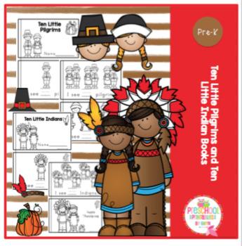 Ten Little Pilgrims and Ten Little Indian Books