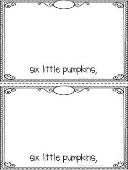 Ten Little Pumpkins (Fall/Autumn)