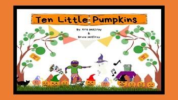 Ten Little Pumpkins Interactive Story