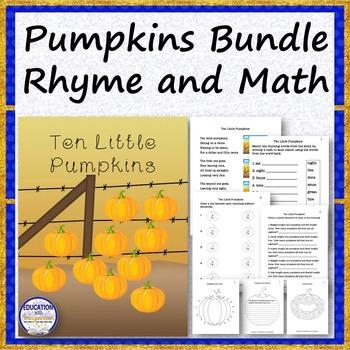 PUMPKINS BUNDLE Rhyme and Math