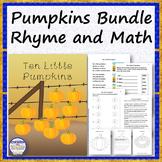 PUMPKINS Rhyme and Math Set