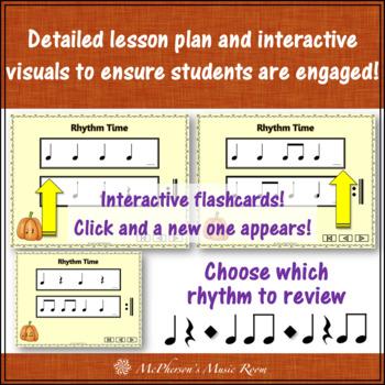 Ten Little Pumpkins: Orff, Rhythm, Instruments and More