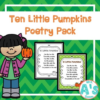 Ten Little Pumpkins Poetry Pack