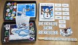 """Winter Adapted Books Unit--""""Ten Little Snowmen"""""""