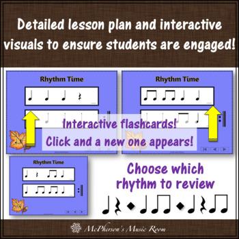 Thanksgiving Music Lesson ~ Ten Little Turkeys: Orff, Rhythm & Improvisation