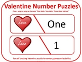 10 Little Valentine Hearts Song and Number Flashcards