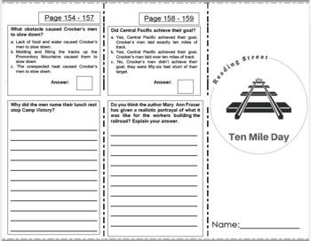 Ten Mile Day - 5th Grade Reading Street