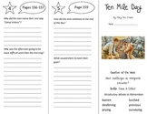 Ten Mile Day Trifold - Reading Street 5th Grade Unit 1 Week 5