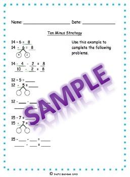 Ten Minus Strategy problems