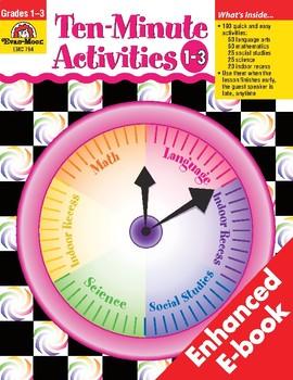 Ten-Minute Activities, Grades 1-3