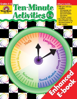 Ten-Minute Activities, Grades 4-6
