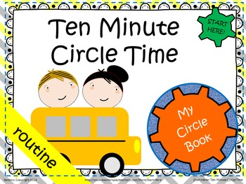 """Ten Minute Circle Time"" Book"