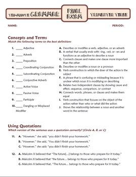 Ten-Minute Grammar: FULL YEAR