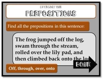 Ten-Minute Grammar T-Three Final Review - Fun PowerPoint Game Show