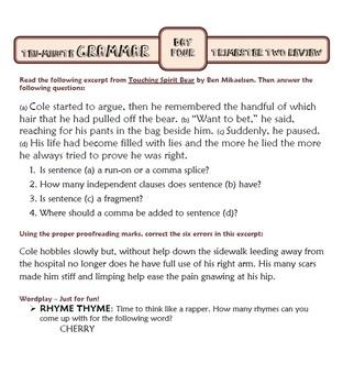 Ten-Minute Grammar: TRI TWO AND THREE