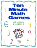 Ten Minute Math Games