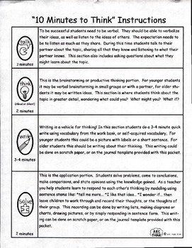 Ten Minutes to Think-School Days