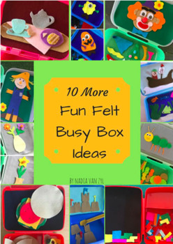 Ten More Fun Felt Busy Box Ideas