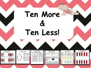 Ten More Ten Less!