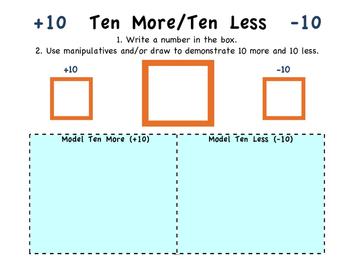 Ten More/Ten Less