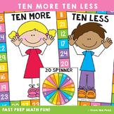 Ten More Ten Less Game