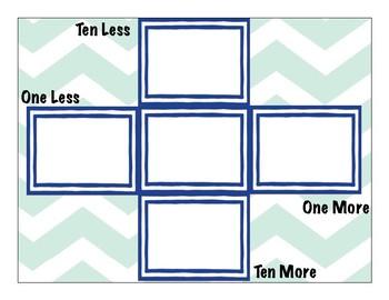 Ten More/ Ten Less/ One More/ One Less, Calendar Time