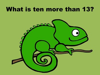 Ten More, Ten Less - PowerPoint Game