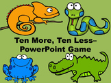 Ten More, Ten Less - PowerPoint Game