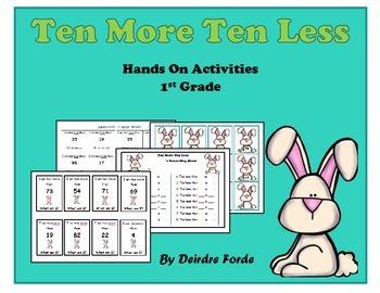 Ten More Ten Less - Spring