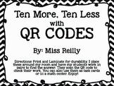 Ten More Ten Less with QR Codes