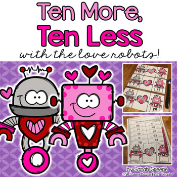 Ten More, Ten Less with the Love Robots!