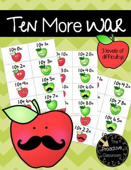Ten More War Adding Ten Game