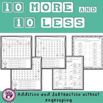 Ten More and Ten Less