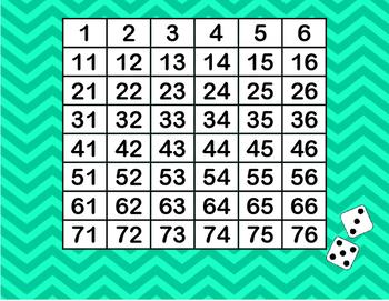 Ten More or Less Game 1.NBT.C.5