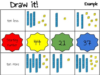 Ten, More or Less! *Place Value Practice*