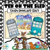 Ten On A Sled Book Companion Craft Activity