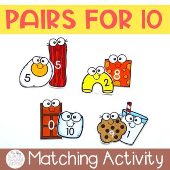 Ten Pairs Matching Game
