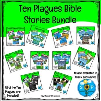 Ten Plagues Bundle Scripture Cards