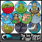 The Ten Plagues of Egypt Clip Art - Moses, Passover Clip Art, Catholic Clip Art