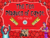 The Ten Plagues of Egypt Clip Cards