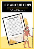 Ten Plagues of Egypt Word Search