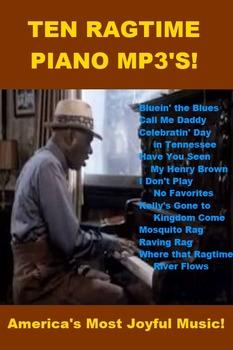 Ten Ragtime Piano mp3s