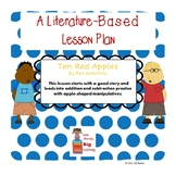 Ten Red Apples Addition and Subtraction Lesson Plan