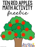 Ten Red Apples - Math Activity Freebie