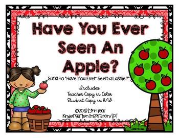 Ten Red Apples Poem