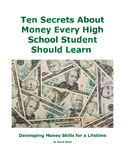 Ten Secrets About Money Every High School Student Should Learn