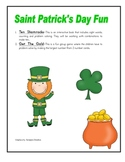 Ten Shamrocks - St.Patricks Day Reader