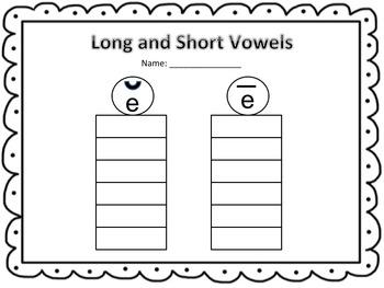 Ten Sheep (Short and Long Vowel E)