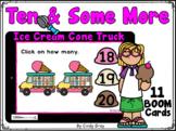 Ten & Some More ~ Ice Cream Cone Truck 10-20  ~ BOOM Cards